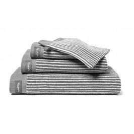 Vandyck Vandyck Ručník Home Petit Ligne Mole grey - šedá - 60x110 cm