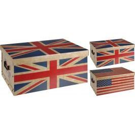 Úložné krabice Vlajky 51x37x24cm - Britská vlajka