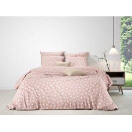 Mistral home Mistral Home povlečení 100% bavlna Portland stars Pink powder 140x200/70x90cm