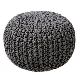 TODAY HIPPIE CHIC pletený MAXI puf 60x45 cm Stone