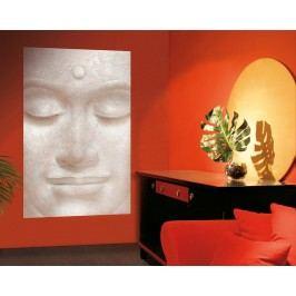 Wizard+Genius W+G Giant Art® Smějící se Buddha 115x175 cm