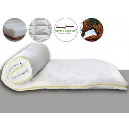 DREAMPUR Vrchní matrace (přistýlka) DREAMPUR® Coco-Eucalyptus 6 cm - 80x200 cm