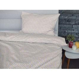 Homeville Homeville povlečení 100% bavlna Bertta červená 140x200cm+70x90cm