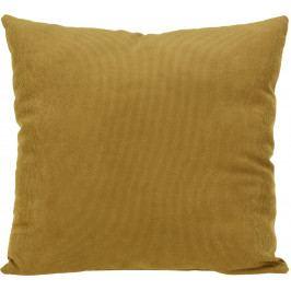 Home collection Dekorační polštářek manšestrový 45x45 cm jantarová