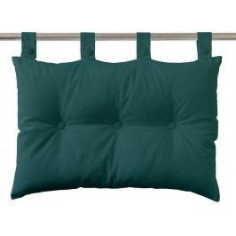 TODAY Závěsný polštář k posteli 70x45 cm Emeraude - barva jehličí
