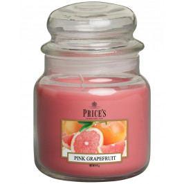 Price´s SIGNATURE MIDI svíčka ve skle Růžový grapefruit, hoření 90h