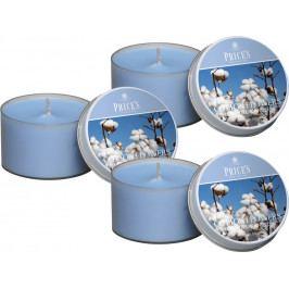 Price´s SIGNATURE vonné svíčky v plechu Nádech hebké bavlny 123g 3ks