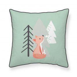 TODAY TODAY dětské polštářky Hello Fox - Liška v lese 40x40 cm