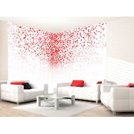 *Tapeta Červený vánek (200x140 cm) - Murando DeLuxe