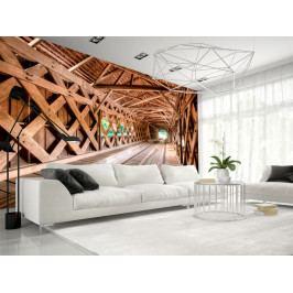 * Dřevěný most (300x210 cm) - Murando DeLuxe