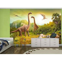 Tapeta dinosauři (150x105 cm) - Murando DeLuxe