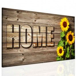 Obraz home slunečnice (150x80 cm) - InSmile ®