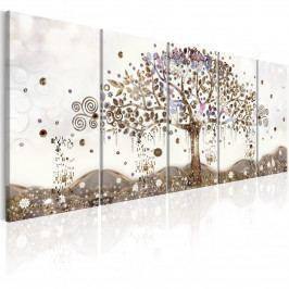 *Pětidílné obrazy - strom života (200x80 cm) - Murando DeLuxe