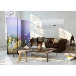 Paraván malovaná louka (135x172 cm) - Murando DeLuxe