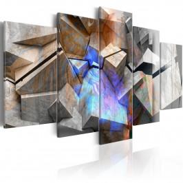 Murando DeLuxe Abstraktní obraz - kameny Velikost: 200x100 cm