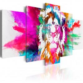 Murando DeLuxe Barvy krále Velikost: 200x100 cm