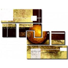 Murando DeLuxe Bronzová planeta Velikost: 132x95 cm