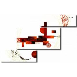 Murando DeLuxe Červená hádanka Velikost: 132x81 cm