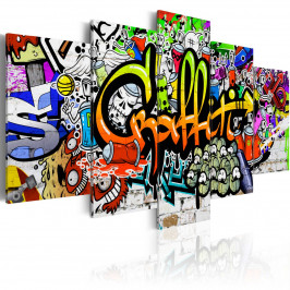 Murando DeLuxe Dětské graffiti Velikost: 200x100 cm