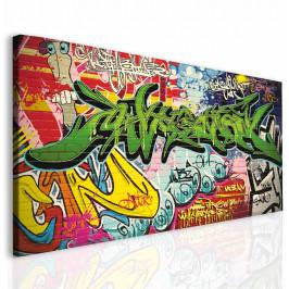 InSmile ® Dětský obraz graffiti Velikost (šířka x výška): 60c30 cm
