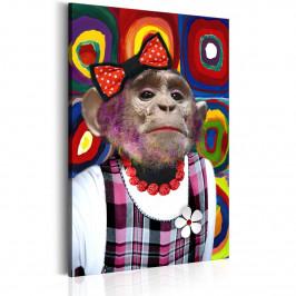 Murando DeLuxe Miss Monkey Velikost: 60x90 cm