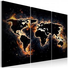 Murando DeLuxe Noční mapa Velikost: 120x80 cm