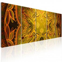 Murando DeLuxe Obraz - květinové křídla Velikost: 225x90 cm