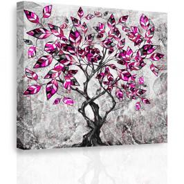 InSmile ® Obraz - Malovaný strom II. Velikost: 50x50 cm