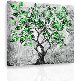 InSmile ® Obraz - Malovaný strom V. Velikost: 50x50 cm