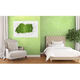InSmile ® Obraz na stěnu - fotbalové hřiště Velikost: 120x80 cm