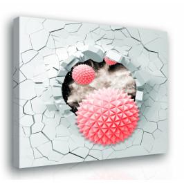 InSmile ® Obraz - tvar ze stěny Velikost: 60x60 cm