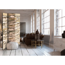 Murando DeLuxe Paraván dekorativní kámen Velikost: 135x172 cm