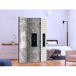 Murando DeLuxe Paraván Hřejivá abstrakce II Velikost: 135x172 cm