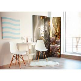 Murando DeLuxe Paraván jantarová země Velikost: 135x172 cm