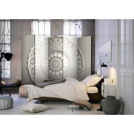 Murando DeLuxe Paraván mandala 3D Velikost: 225x172 cm