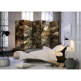 Murando DeLuxe Paraván mramorové poklady II Velikost: 225x172 cm