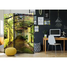 Murando DeLuxe Paraván romantická zahrada Velikost: 135x172 cm
