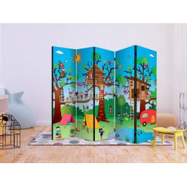 Murando DeLuxe Paraván šťastné děti Velikost: 225x172 cm