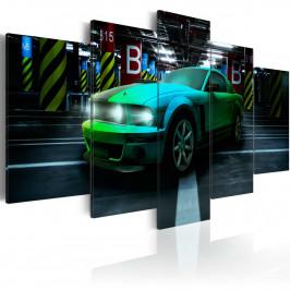 Murando DeLuxe Pětidílné obrazy - auto Velikost: 200x100 cm