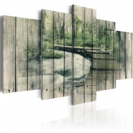 Murando DeLuxe Řeka tajemství Velikost: 200x100 cm