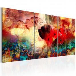 Murando DeLuxe Zahrada barev Velikost: 120x60 cm