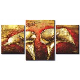 Murando DeLuxe Zlaté kvítí Velikost: 104x56 cm