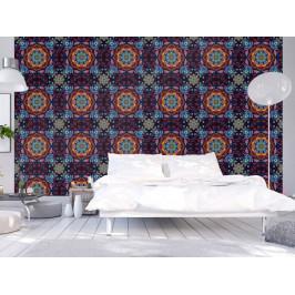 Murando DeLuxe Barevný kaleidoskop Klasické tapety: 49x1000 cm - samolepicí