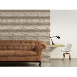Murando DeLuxe Krémová stěna Klasické tapety: 47x1000 cm - samolepicí