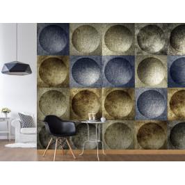 Murando DeLuxe Moderní mozaika Klasické tapety: 49x1000 cm - samolepicí