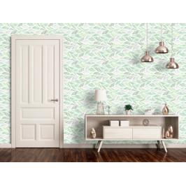 Murando DeLuxe Zelené vlny Klasické tapety: 49x1000 cm - samolepicí