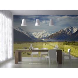 Murando DeLuxe Fototapeta- Alpy v dálce Rozměry (š x v) a Typ: 147x116 cm - samolepící