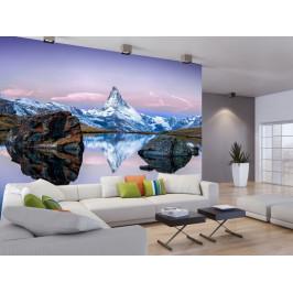 Murando DeLuxe Fototapeta odlesk hory Rozměry (š x v) a Typ: 147x105 cm - samolepící