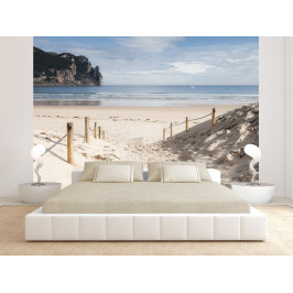 Murando DeLuxe Fototapeta písečná pláž Rozměry (š x v) a Typ: 147x105 cm - samolepící