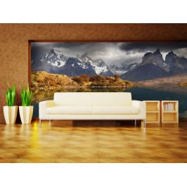Murando DeLuxe Národní park Torres del Paine Rozměry (š x v) a Typ: 147x116 cm - samolepící